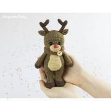 Amigurumi Cuddle Reindeer