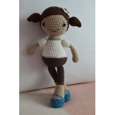 Amigurumi Sophia girl - cotton