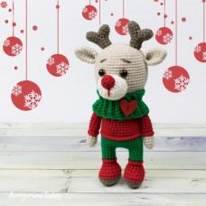 Amigurumi Deer Christmas
