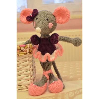 Amigurumi Ballerine  Mouse  - Acrylic